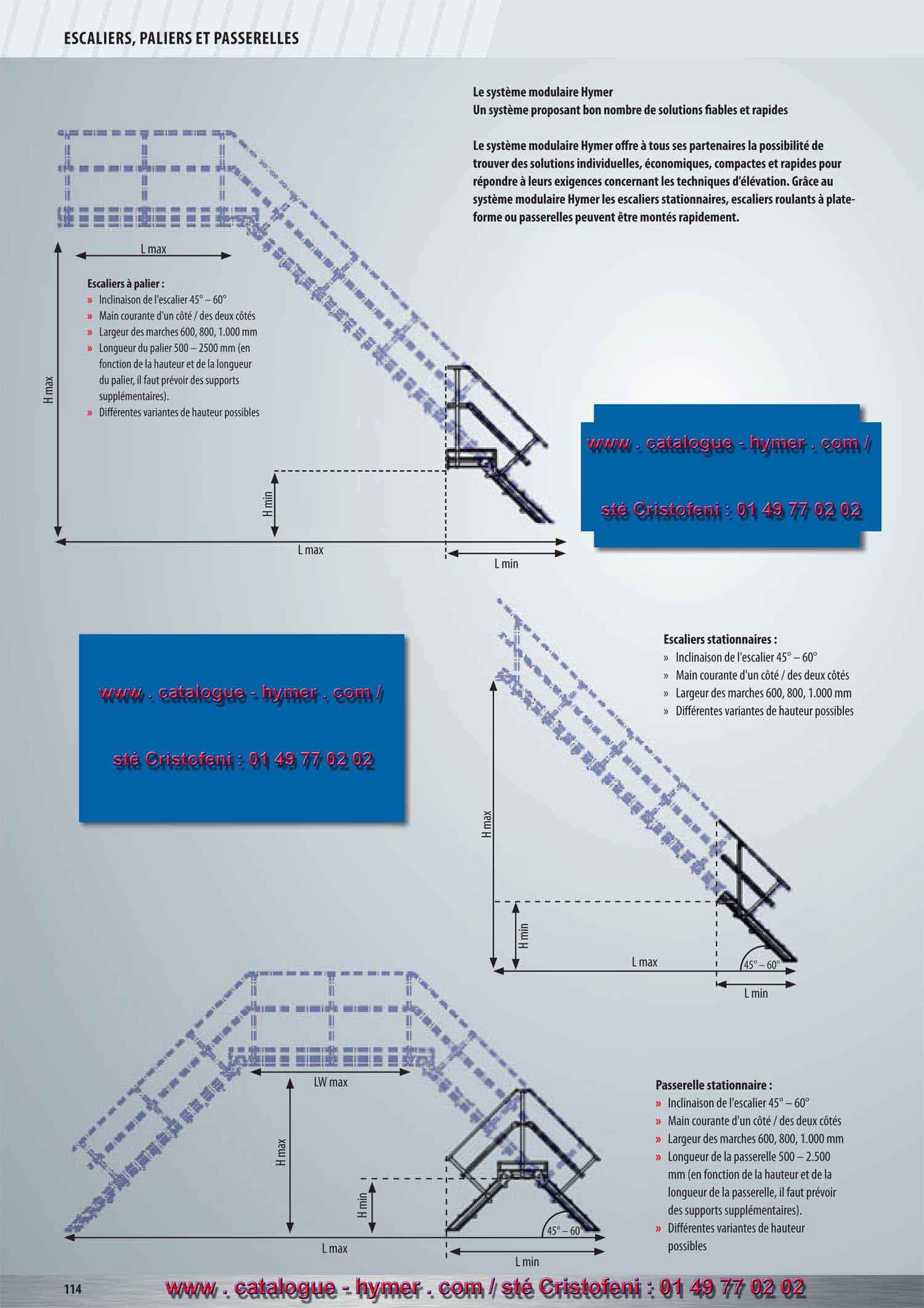 P114 solutions fiables des principes modulaires pour for Longueur d un escalier