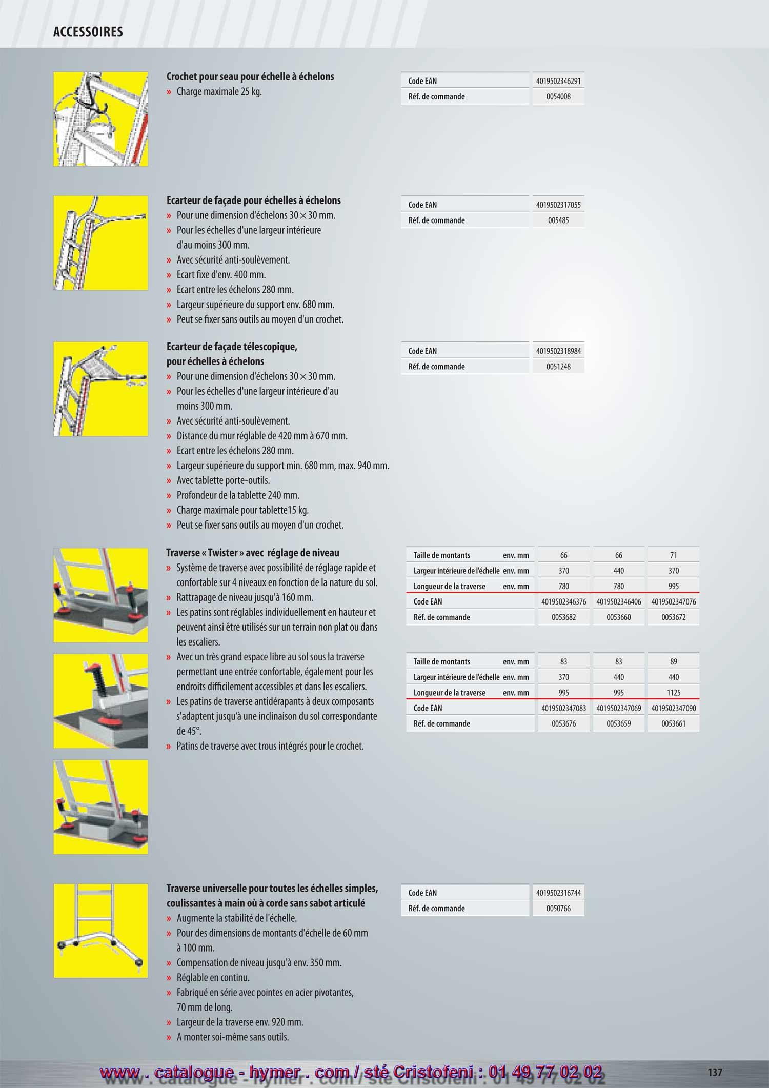 p153 carteur de fa ade carteur de toit t lescopique tablette crochet pour seau attache. Black Bedroom Furniture Sets. Home Design Ideas