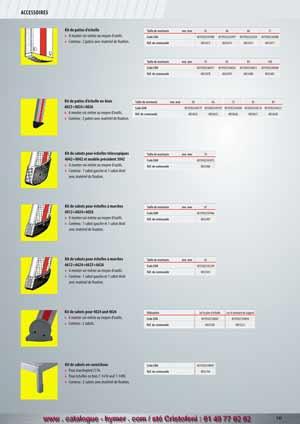 page d 39 accueil du catalogue hymer tableau prix pour tous chafaudages aluminium hymer. Black Bedroom Furniture Sets. Home Design Ideas